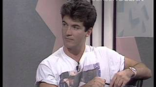 Is this Simon Cowell's first TV Appearance?