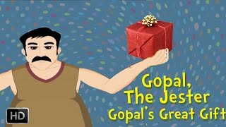 Gopal, the Jester - Gopal's Great Gift - Animation Story for Children
