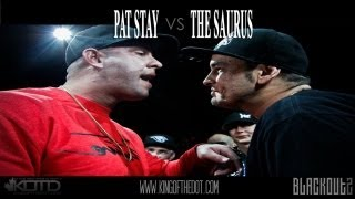 KOTD - Rap Battle - Pat Stay vs The Saurus