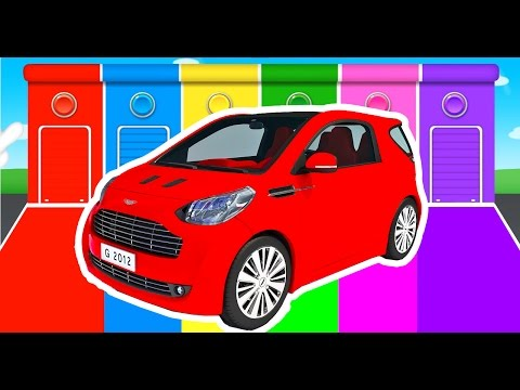 Car Colors for Kids Learning Educational Video & Learn Vechicles Children Nursery Rhymes