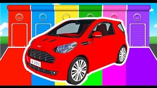 Car Colors for Kids - Learning Educational Video & Learn Vechicles - Children Nursery Rhymes