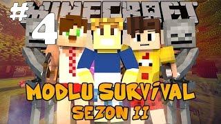 Minecraft Modlu Survival 2  Sezon - Nükleer Bomba - Bölüm 4