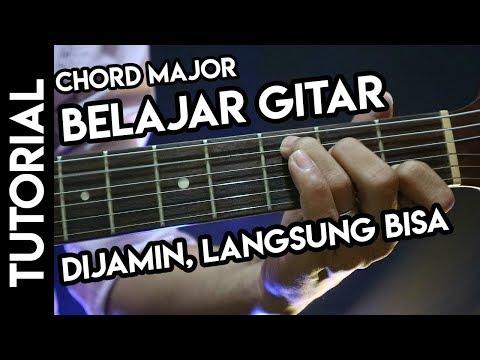Belajar Gitar Untuk Pemula Banget (Konci Dasar)