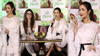 Stunning Malaika Arora Talks About Fitness At USA Pears Launch