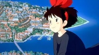 宮崎駿 - 魔女宅急便主題曲 - 能看見海的街道