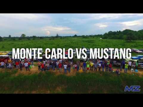 Monte Carlo vs Mustang Drag Race Venezuela Ford vs Chevrolet