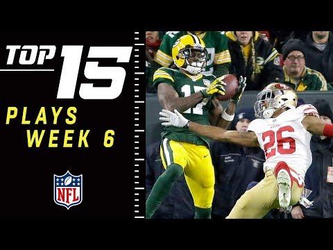 Xxx Mp4 Top 15 Plays Of Week 6 NFL 2018 Highlights 3gp Sex