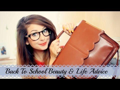 Back To School Beauty & Life Q&A Zoella