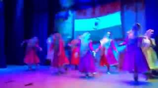 Kathak akshaya Kumar choreographed- directed tarana by russian students at Moscow