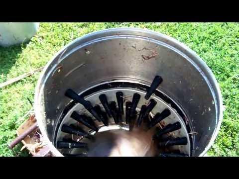 Как сделать машинку для ощипывания птицы