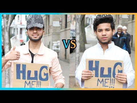 Xxx Mp4 HUG Muslim Vs Non Muslim Experiment Social Experiment 3gp Sex