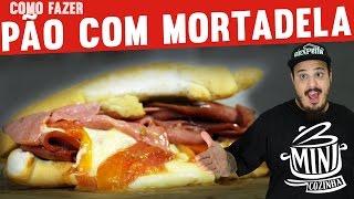 Como Fazer Pão com Mortadela | Gordices | #MINICOZINHA