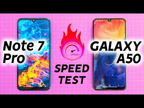 Redmi Note 7 Pro vs Samsung A50 Speed Test Oh Mi God 🔥