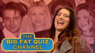 The Teams Try to Remember the Gladiators Names - The Big Fat Quiz of the 90's