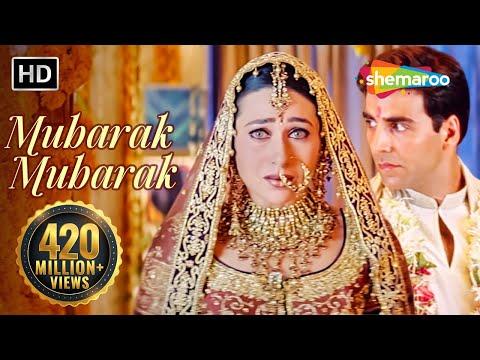 Mubarak Mubarak मुबारक हो तुमको ये शादी Haan Maine Bhi Pyaar Kiya Bollywood Shaadi Songs
