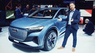 Top 5 ELECTRIC CARS   Geneva Motor Show 2019   Top Gear