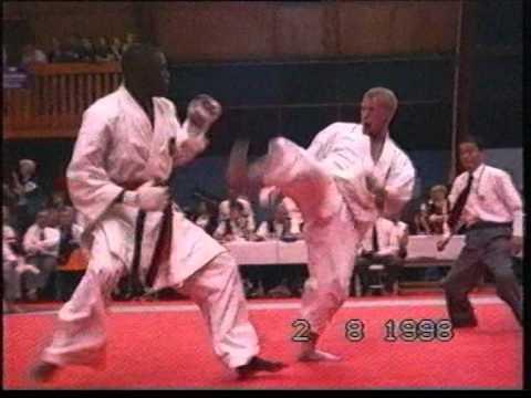 JKA Karate - J. Mulolo - Best Karateka of the World '98