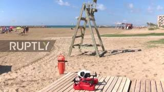 Spain: New drone saves drowning bathers in less than a minute