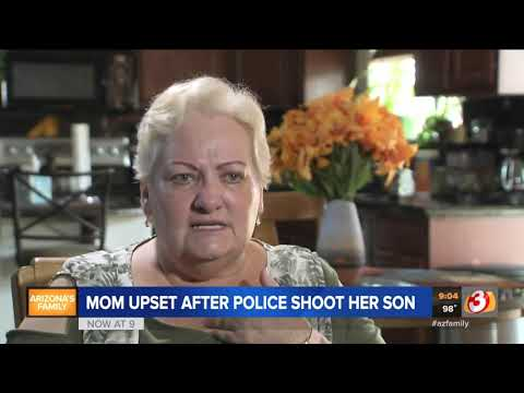 Xxx Mp4 VIDEO Mom Upset After Police Shot Her Son 3gp Sex