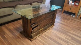 Gorgeous Drift Wood Coffee Table Build
