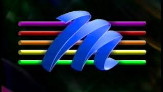 M-Net ON-AIR launch promos & CI 'rules' 1992