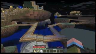 Minecraft SMP Island Madness Part #1: Village In The Sky
