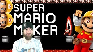 Hard Levels, No Checkpoints. Jumping into the Fire! [SUPER MARIO MAKER]