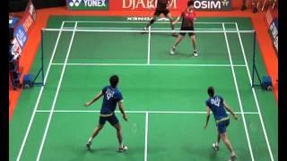 Yong Dae L-Jung Eun H (South Korea) VS Tontowi A-Lilyana N (Indonesia) Penyisihan Ganda Campuran
