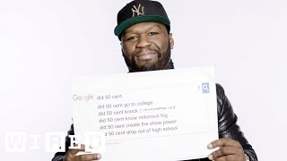 50 Cent Answers the Web