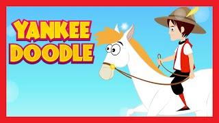YANKEE DOODLE - Baby Poems In English | Yankee Doodle Nursery Rhyme | English Poem For Kids