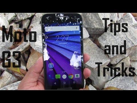 Motorola Moto G 3rd Generation Tips and Tricks