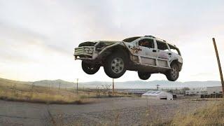 SUPER SKETCHY TRASH CAR RACE!