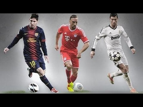 Cristiano Ronaldo VS Lionel Messi VS Frank Ribéry • Who Is The UEFA 2013 Idol?