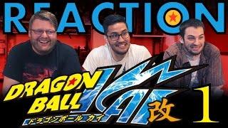 TFS DragonBall Z Kai Abridged REACTION!! Episode 1