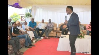 MCH MASANJA Anena Mazito Kwenye Msiba wa Mama Shigongo