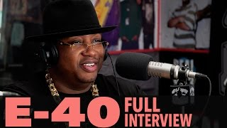 "E-40 on ""The D-Boy Diary"", Being Friends With Tupac, And More! (Full Interview) 