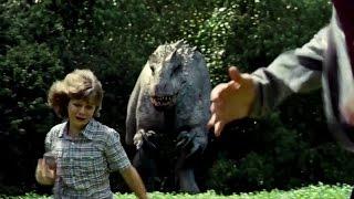 JURASSIC WORLD - Movie Clip #9 'Indominus Rex Chase' (2015) Chris Pratt Dinosaur Movie [720p]