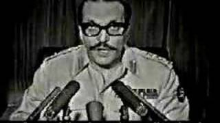 General Zia ul Haq declaring Martial Law