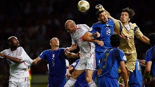 Italy Vs. France 2006 World Cup Final Highlights