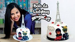 Bolo da Ladybug | Como Fazer Bolo da Ladybug | How To Make a Ladybug Cake | Cakepedia