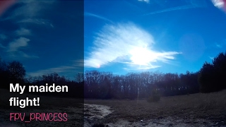 My maiden flight with the Dronz Xorcist | Fpv_princess