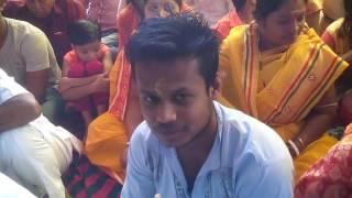 Bhog aarati in sambalpur sakha sangha c/o sri guru