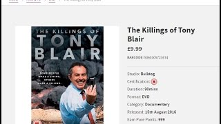 The Killings Of Tony Blair (2016) reviewed by Martin Summers and Tony Gosling on BCfm Politics show
