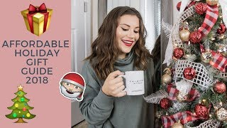 HOLIDAY GIFT GUIDE 2018 | AFFORDABLE GIFTS & EASY GIFT IDEAS