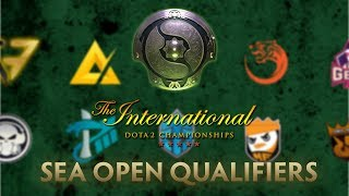 YT LIVE   The International 2018 Open Qualifiers