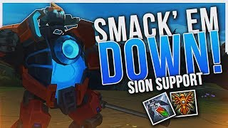 MY HIGHEST WINRATE SUPPORT!? SION OP | Dyrus