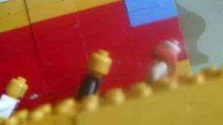 Lego cruise ship sinks