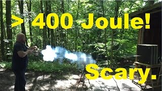 400 Joule: World Record Homemade Arrow Shooter