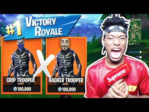 Playing Squads with a FORTNITE HACKER AND CRIP MEMBER ft. TheMambaAtlas