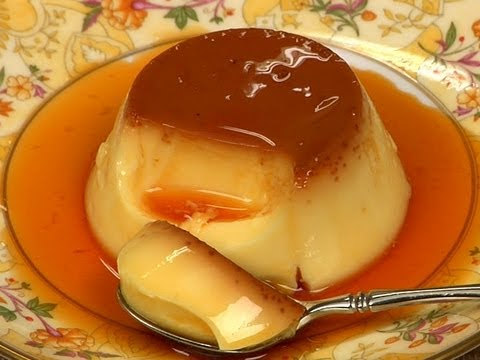 How to Make Custard Pudding Easy Custard Pudding Recipe Egg Pudding Cooking with Dog